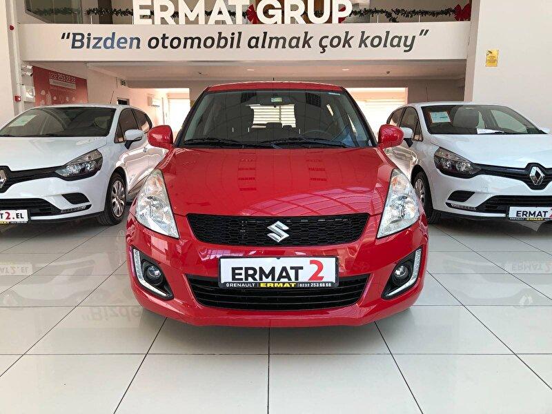 2016 Benzin Otomatik Suzuki Swift Kırmızı ERMAT RENAULT