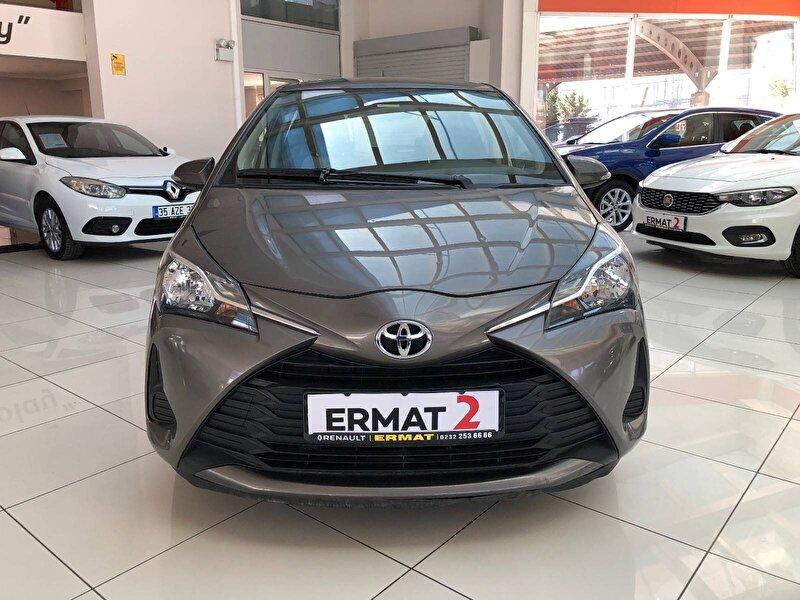 2018 Benzin Otomatik Toyota Yaris Gri ERMAT