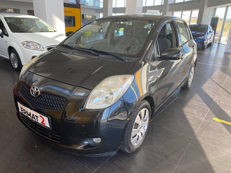 2008 Benzin Otomatik Toyota Yaris Siyah ERMAT
