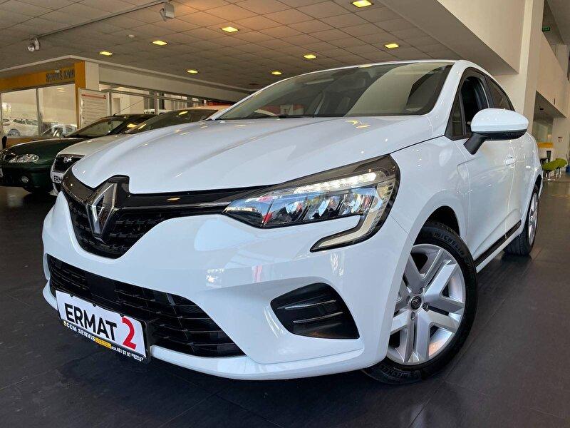 2021 Benzin Otomatik Renault Clio Beyaz ERMAT