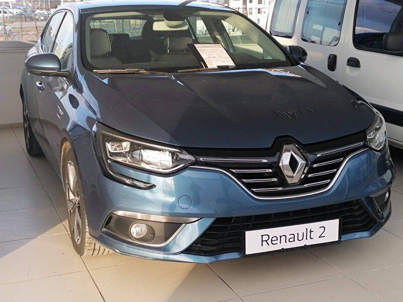 2017 Dizel Otomatik Renault Megane Mavi NAZAR OTO