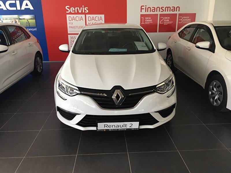 2017 Dizel Manuel Renault Megane Beyaz MAİS-İZMİR