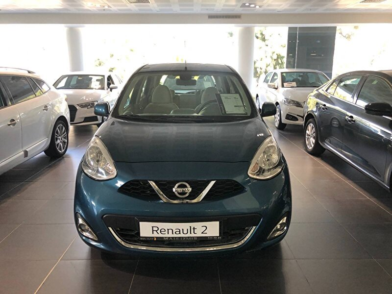 2018 Benzin Otomatik Nissan Micra Mavi MAİS-İZMİR