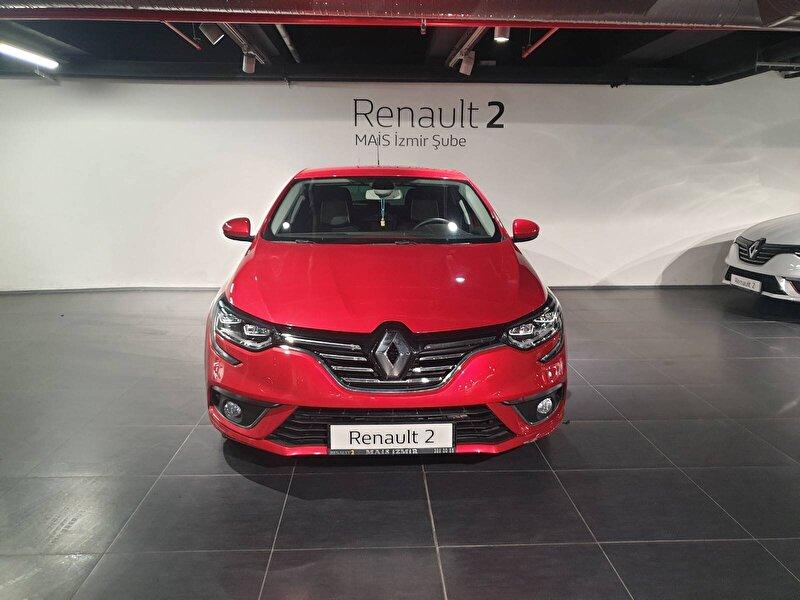 2018 Dizel Manuel Renault Megane Kırmızı MAİS-İZMİR