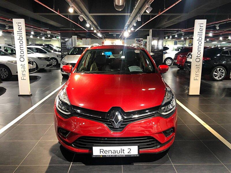 2018 Dizel Otomatik Renault Clio Kırmızı MAİS-İZMİR