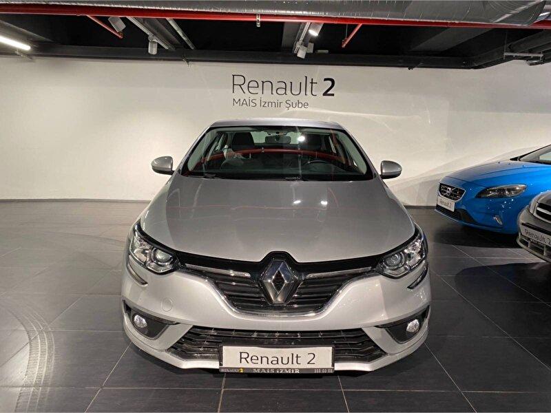 2019 Dizel Otomatik Renault Megane Gümüş Gri MAİS-İZMİR