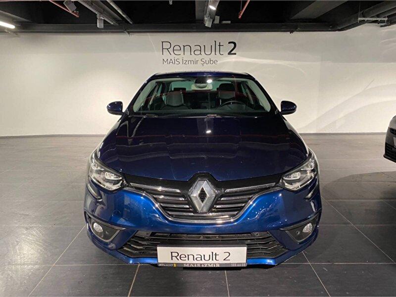 2017 Dizel Otomatik Renault Megane Mavi MAİS-İZMİR