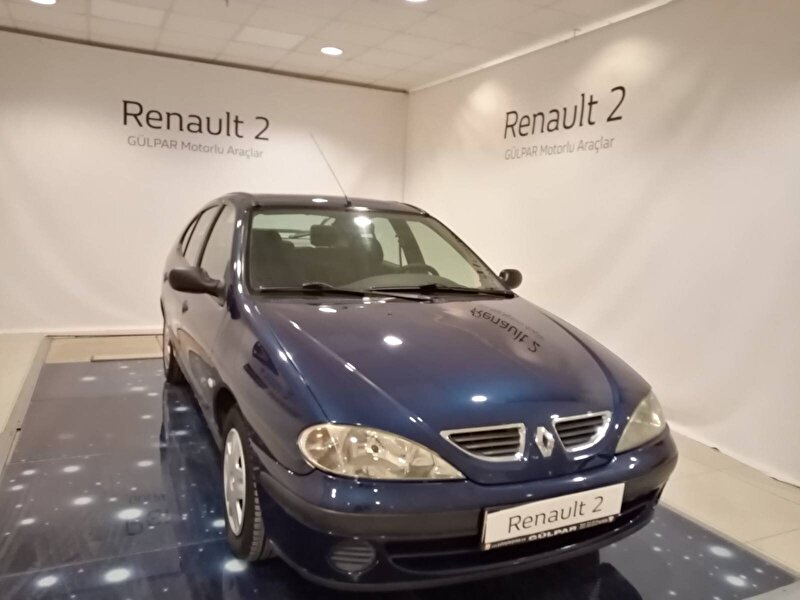 2002 Benzin Manuel Renault Megane Lacivert GÜLPAR