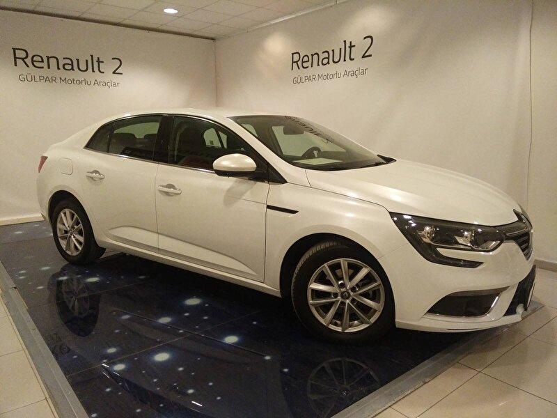 2017 Dizel Manuel Renault Megane Beyaz GÜLPAR