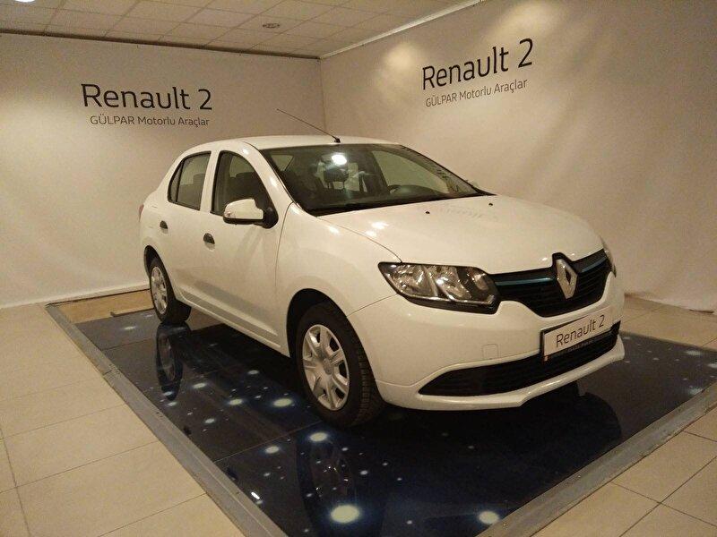 2015 Benzin + LPG Manuel Renault Symbol Beyaz GÜLPAR