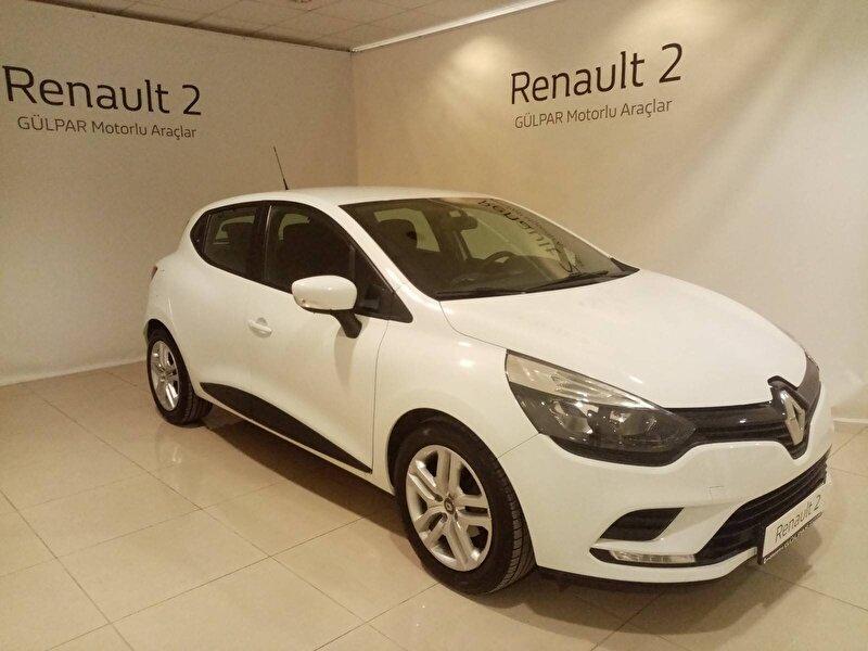 2018 Dizel Manuel Renault Clio Beyaz GÜLPAR
