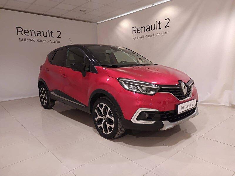 2017 Dizel Otomatik Renault Captur Kırmızı GÜLPAR