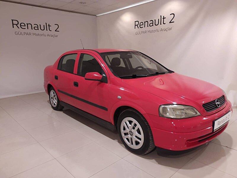 2003 Benzin + LPG Manuel Opel Astra Kırmızı GÜLPAR
