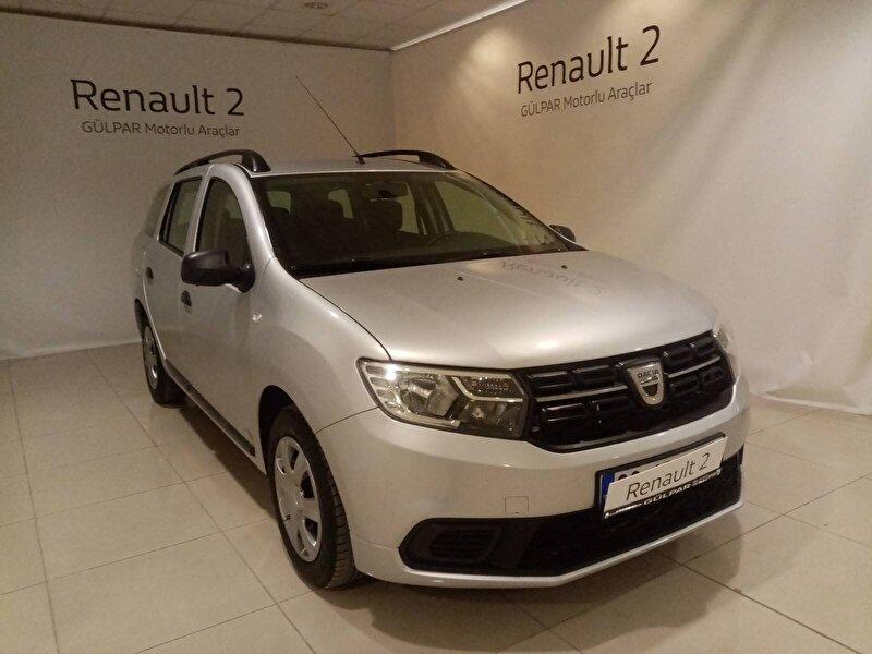 2018 Dizel Manuel Dacia Logan Gümüş Gri GÜLPAR