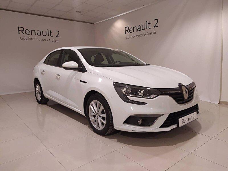 2017 Dizel Otomatik Renault Megane Beyaz GÜLPAR