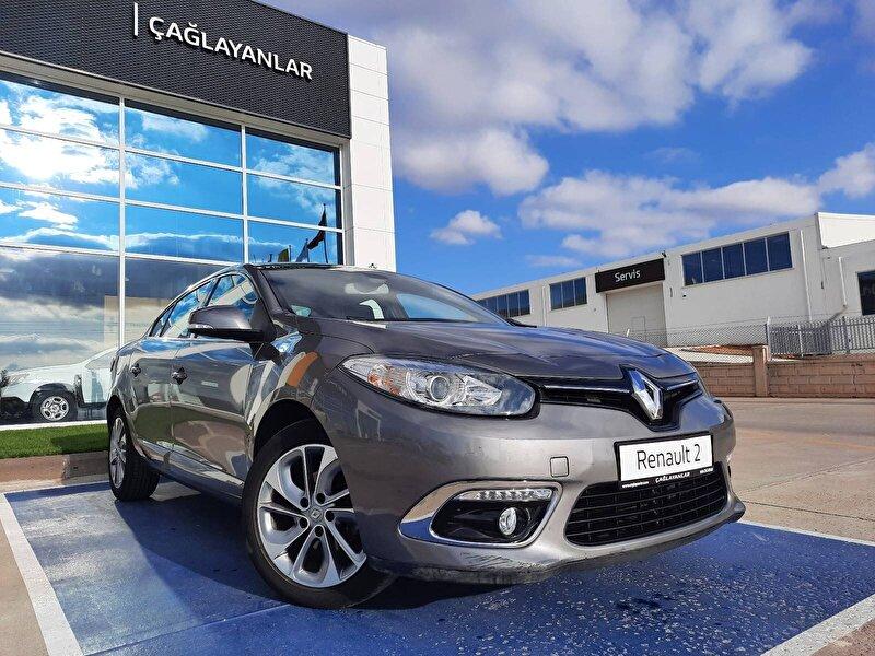 2015 Dizel Otomatik Renault Fluence Gri ÇAĞLAYANLAR