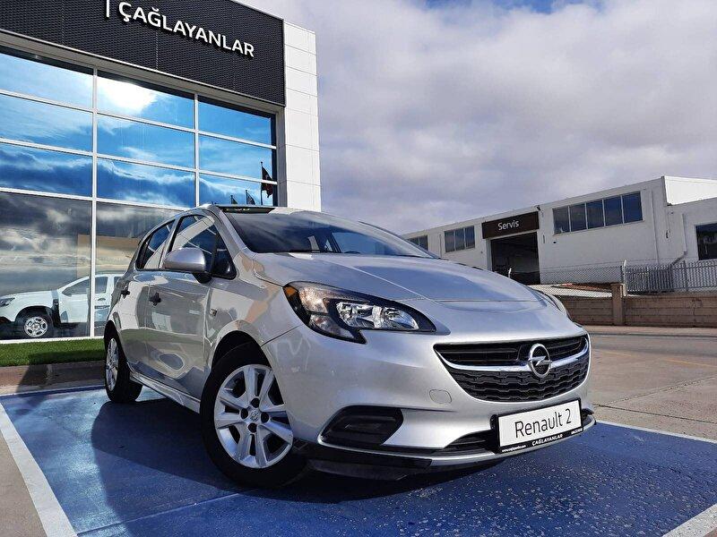 2017 Benzin Otomatik Opel Corsa Gümüş Gri ÇAĞLAYANLAR
