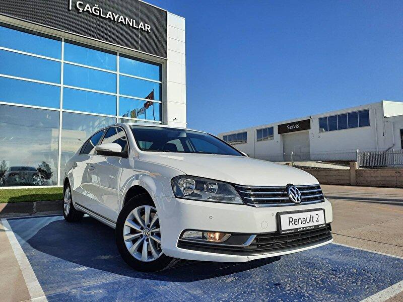 2012 Benzin Manuel Volkswagen Passat Beyaz ÇAĞLAYANLAR