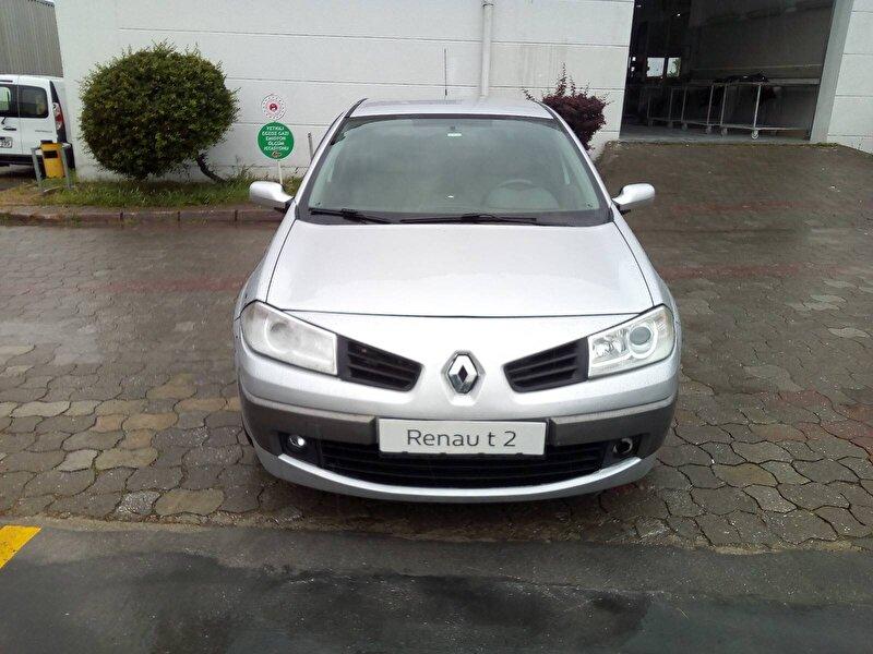 2008 Dizel Otomatik Renault Megane Gri ERNAZ OTO
