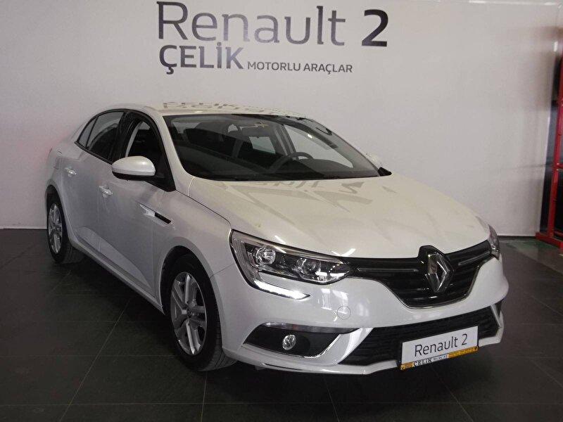 2017 Benzin Manuel Renault Megane Beyaz ÇELİK MT.ARÇ