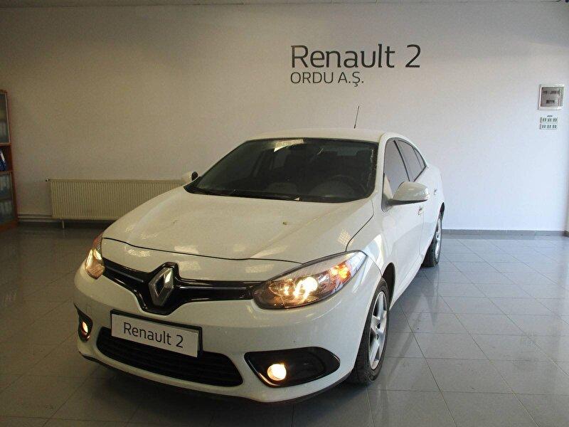 2014 Dizel Manuel Renault Fluence Beyaz ORDU MOTORLU