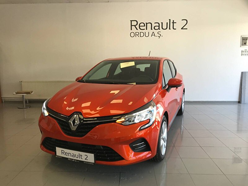 2020 Benzin Otomatik Renault Clio Turuncu ORDU MOTORLU