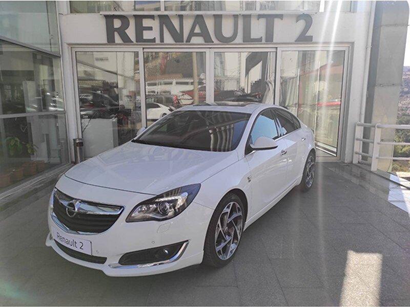 2016 Dizel Otomatik Opel Insignia Beyaz KUTAY AŞ.