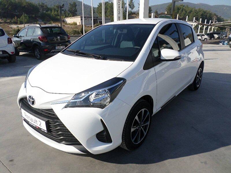 2019 Benzin Otomatik Toyota Yaris Beyaz KUTAY AŞ.