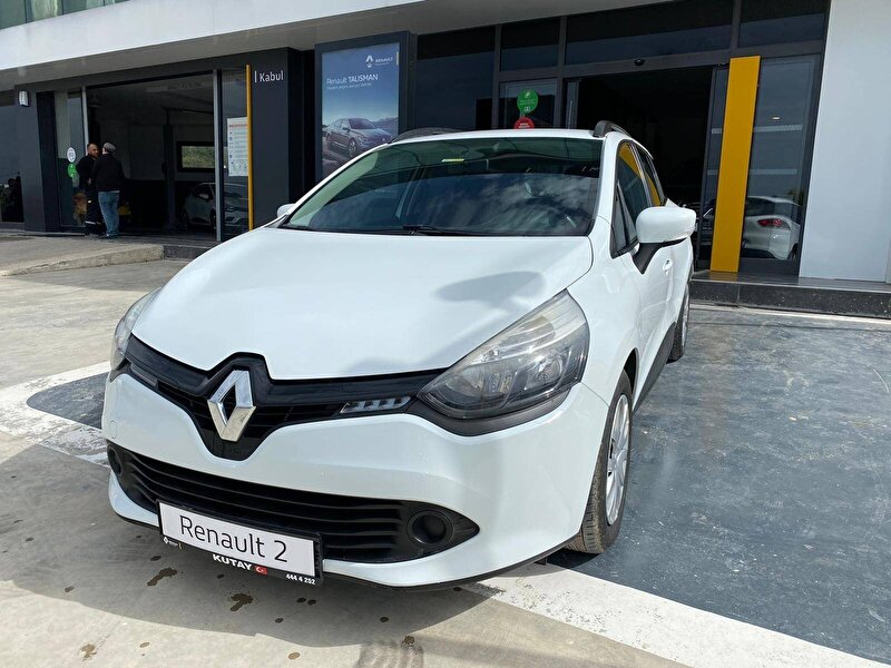 2016 Dizel Manuel Renault Clio Beyaz KUTAY AŞ.