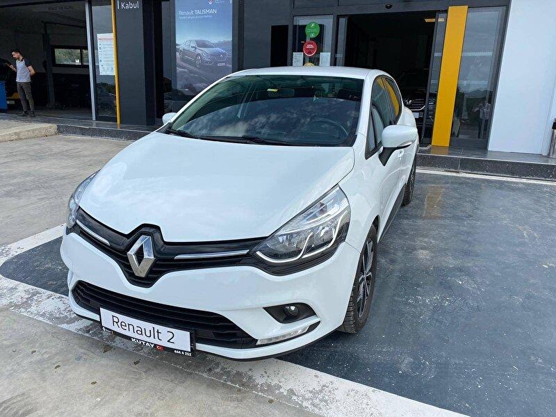 2018 Dizel Otomatik Renault Clio Beyaz KUTAY AŞ.