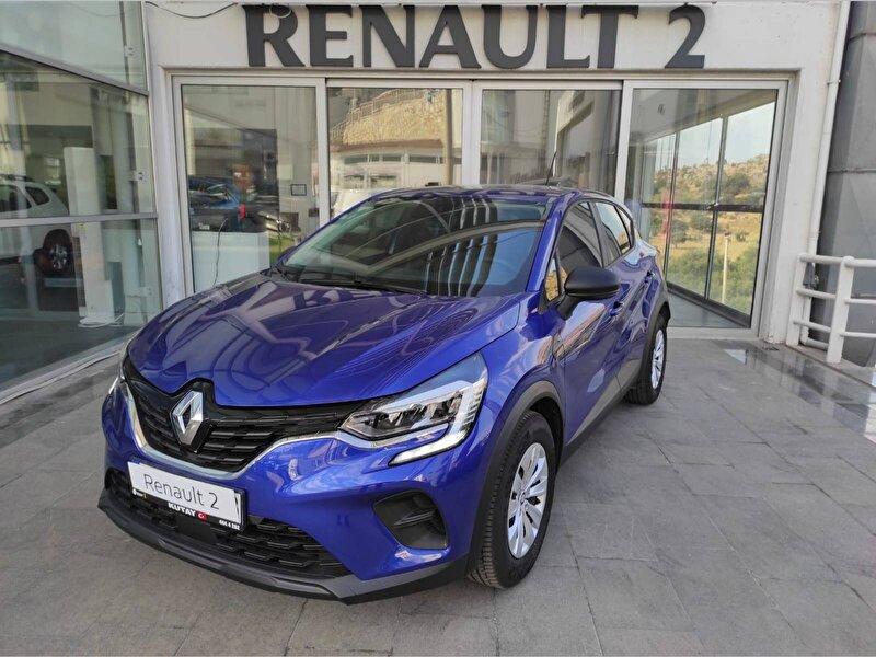 2020 Benzin Otomatik Renault Captur Mavi KUTAY AŞ.