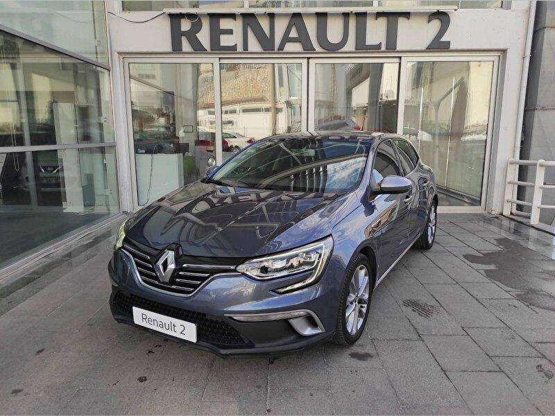 2016 Dizel Otomatik Renault Megane Mavi KUTAY AŞ.