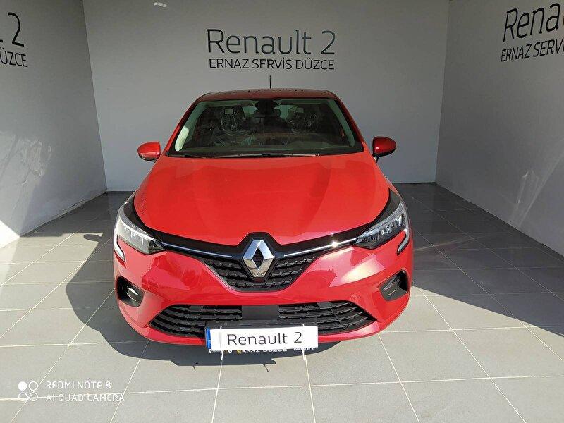 2020 Benzin Otomatik Renault Clio Kırmızı ERNAZ SAKARYA