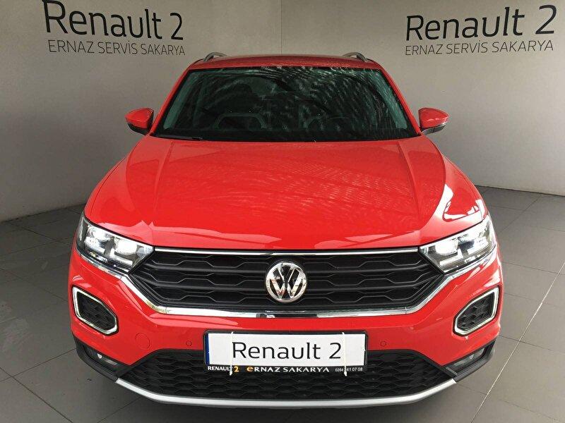 2020 Benzin Otomatik Volkswagen T-Roc Kırmızı ERNAZ SAKARYA