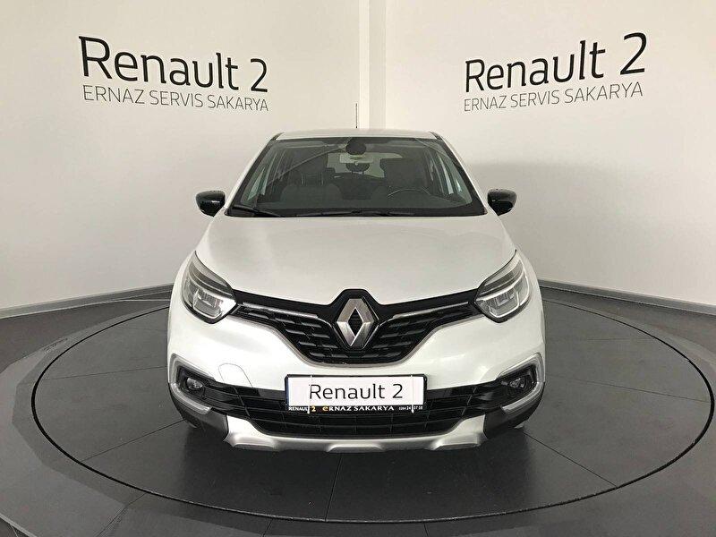 2018 Dizel Otomatik Renault Captur Beyaz ERNAZ SAKARYA
