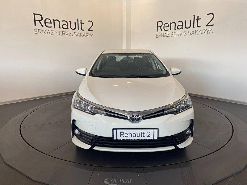 2018 Dizel Otomatik Toyota Corolla Beyaz ERNAZ SAKARYA