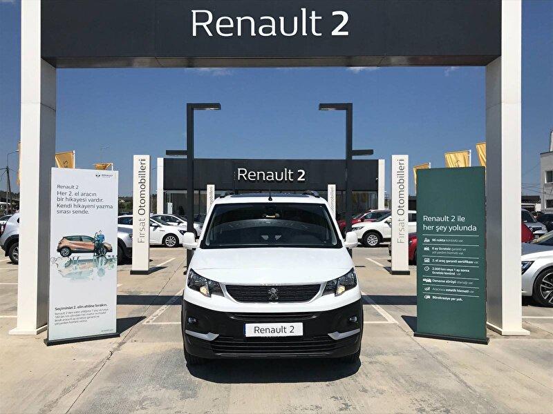 2020 Dizel Manuel Peugeot Rifter Beyaz BUHARİ OTOMOTİV