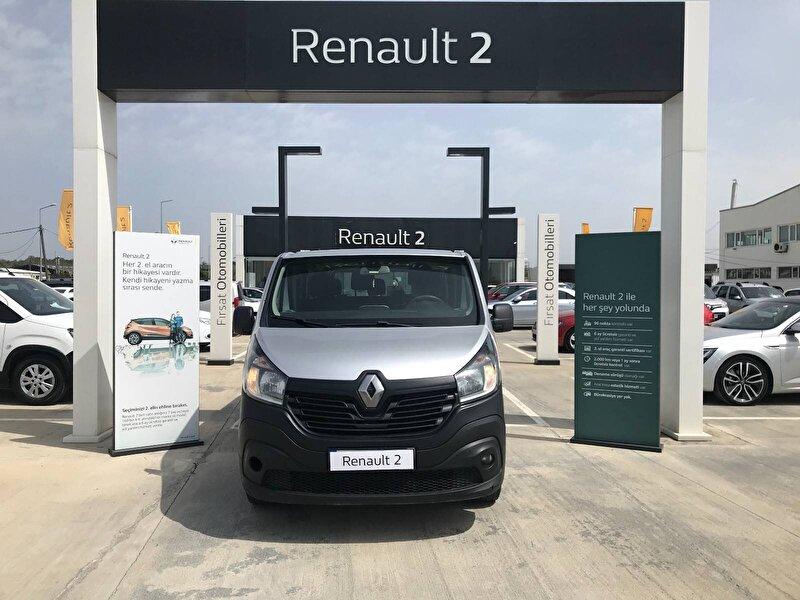 2016 Dizel Manuel Renault Trafic Gümüş Gri BUHARİ OTOMOTİV