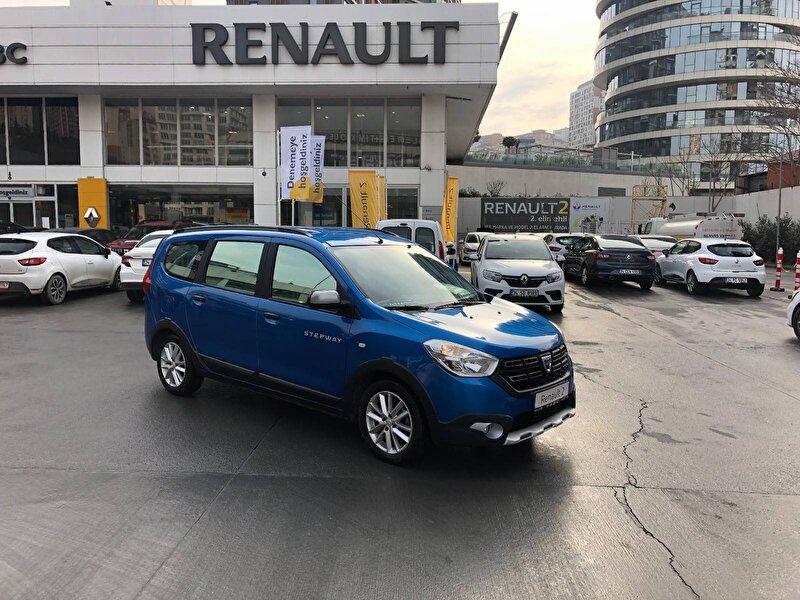 2017 Dizel Manuel Dacia Lodgy Mavi ABC MOTO ARÇ