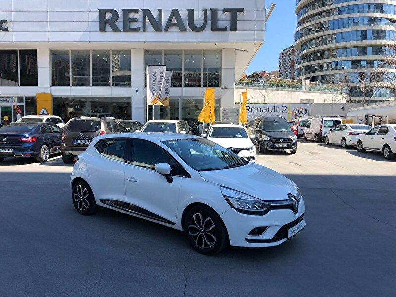 2017 Dizel Otomatik Renault Clio Beyaz ABC MOTO ARÇ