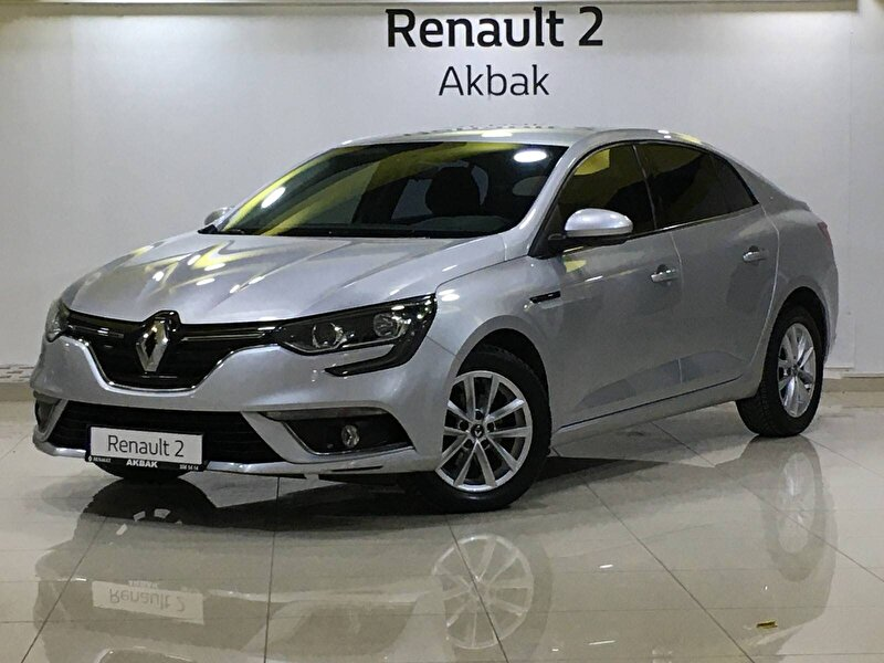 2017 Dizel Otomatik Renault Megane Gri AKBAK TURİZM