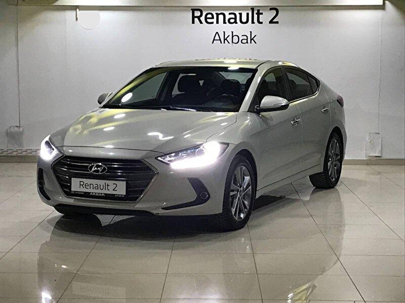 2016 Dizel Otomatik Hyundai Elantra Gri AKBAK