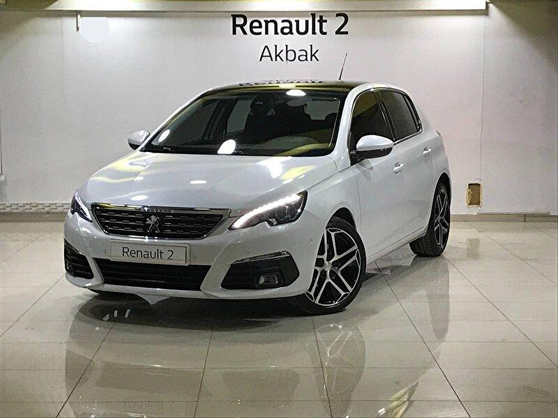 2017 Dizel Otomatik Peugeot 308 Beyaz AKBAK