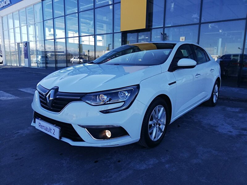 2017 Dizel Otomatik Renault Megane Beyaz URMA OTOMOTİV