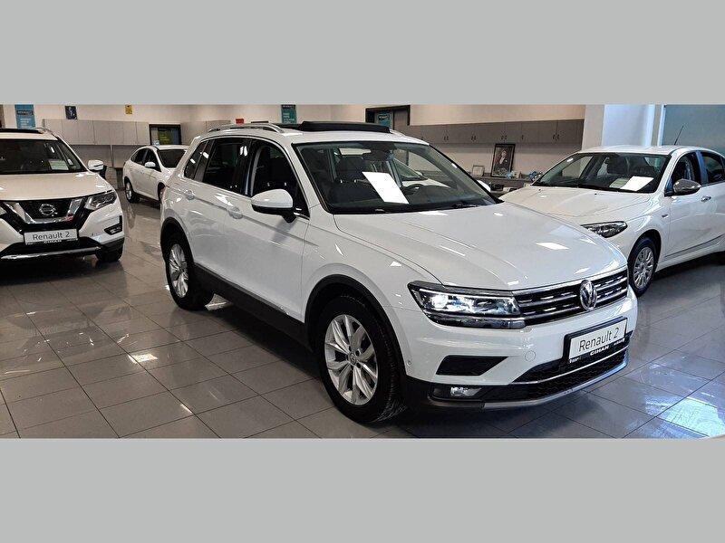 2018 Benzin Otomatik Volkswagen Tiguan Beyaz CİHAN PETROL