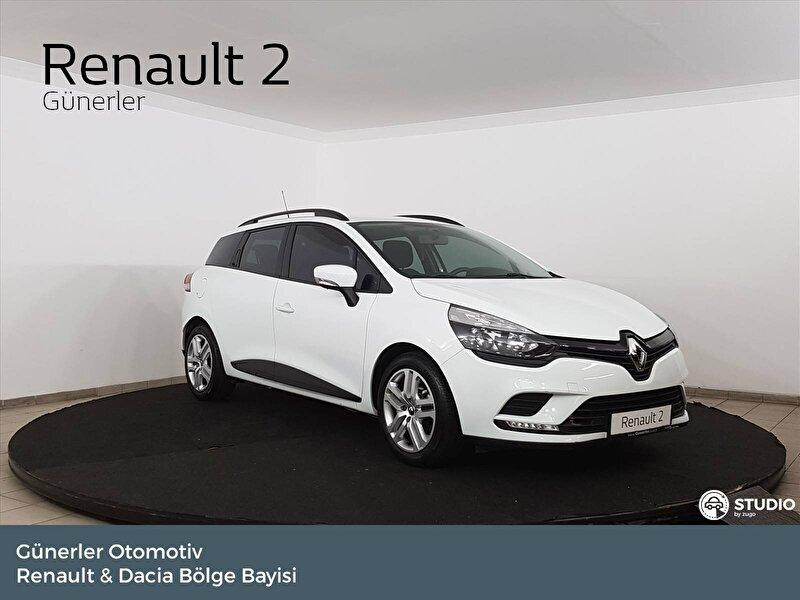 2019 Dizel Manuel Renault Clio Beyaz GÜNERLER