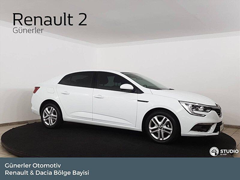 2019 Benzin Manuel Renault Megane Beyaz GÜNERLER