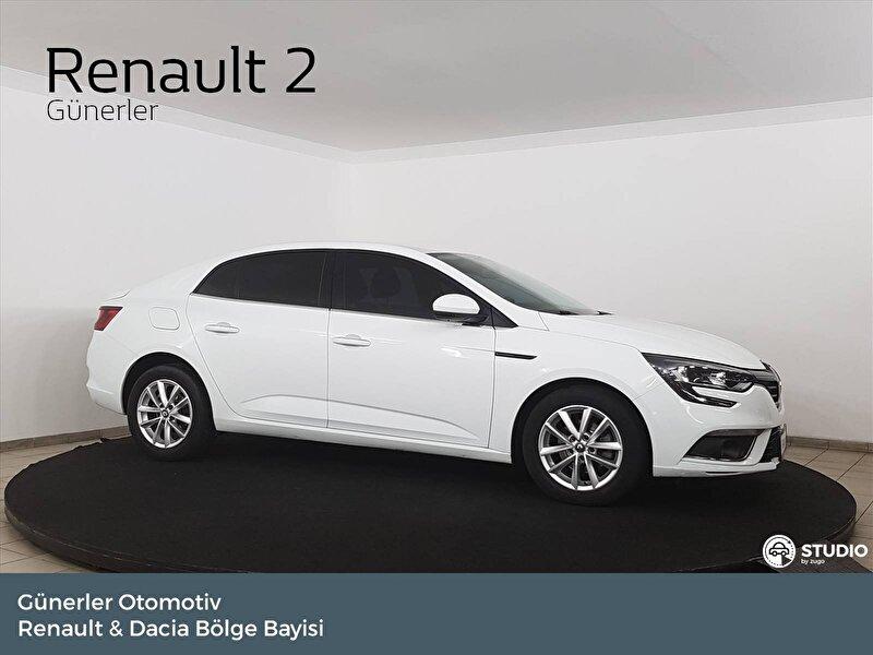 2017 Dizel Otomatik Renault Megane Beyaz GÜNERLER