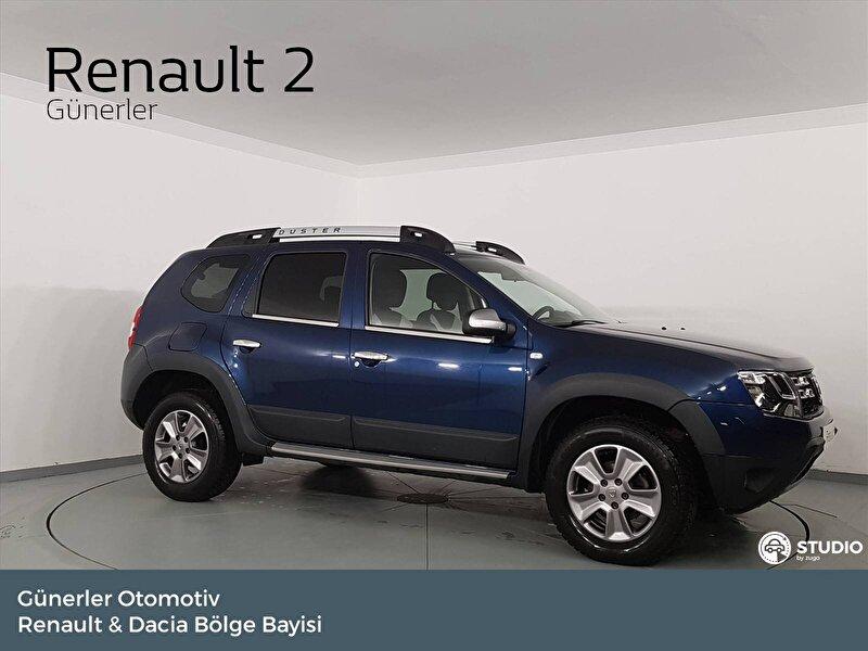 2017 Dizel Otomatik Dacia Duster Mavi GÜNERLER