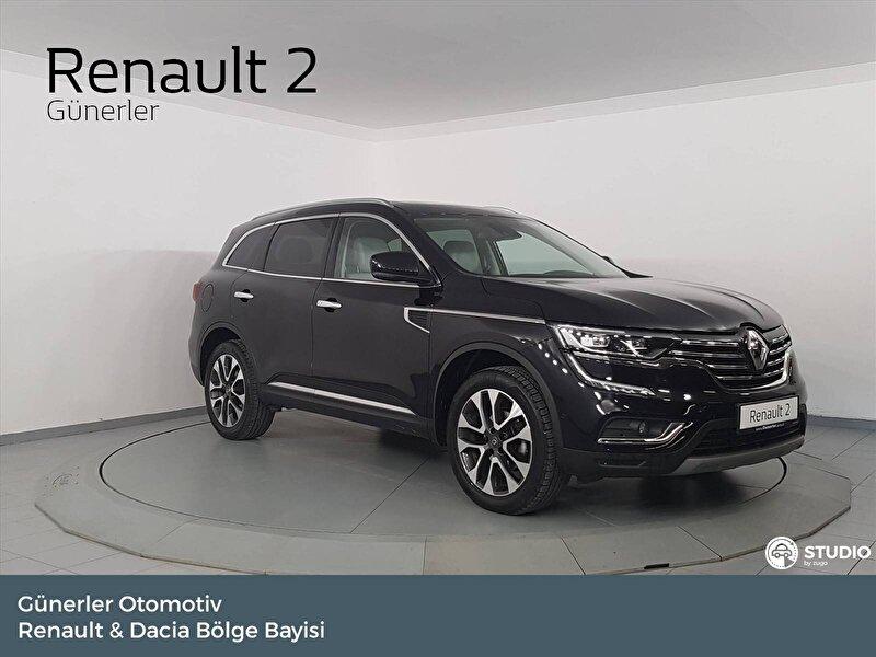 2018 Dizel Otomatik Renault Koleos Siyah GÜNERLER